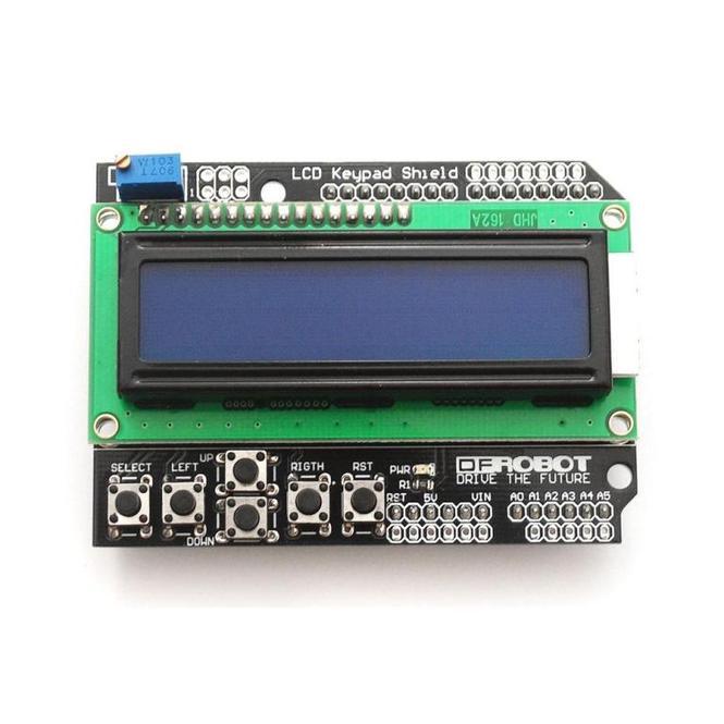 Подключение LCD Keypad Shield